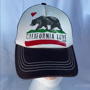 Billabong Pitstop Truckers Hat California Love
